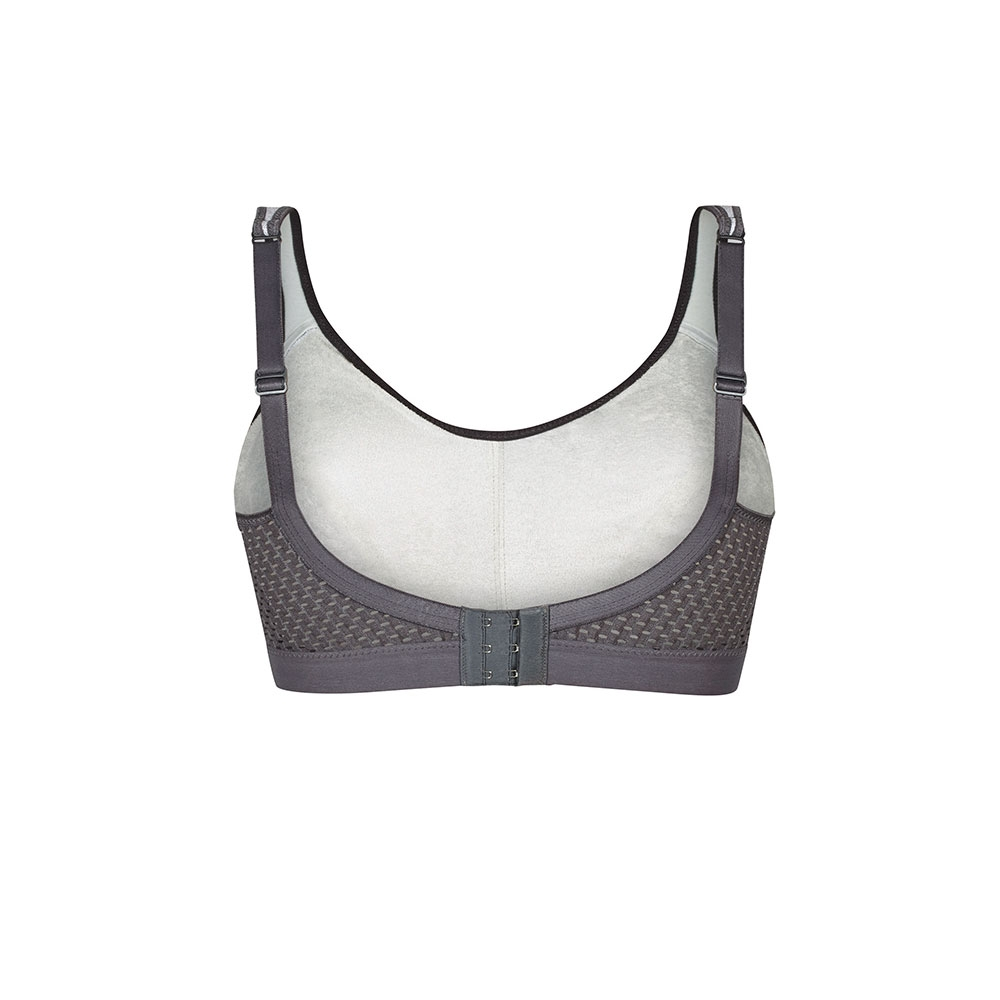 Anita Sport-BH EXTREME CONTROL, Heather Grey, Rückseite, Freisteller