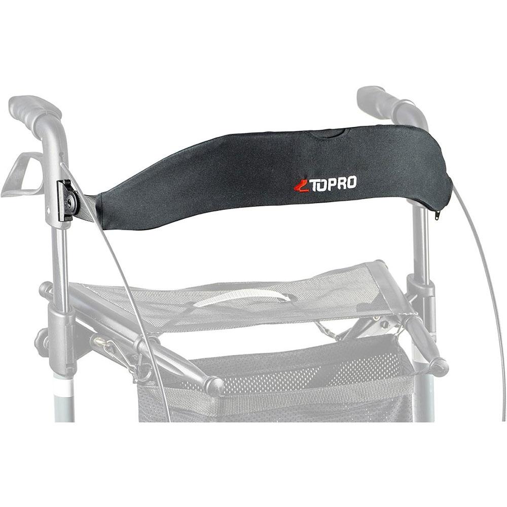 Für mehr Sicherheit und Komfort beim Sitzen auf dem Rollator: Der Rollator-Rückengurt von TOPRO.