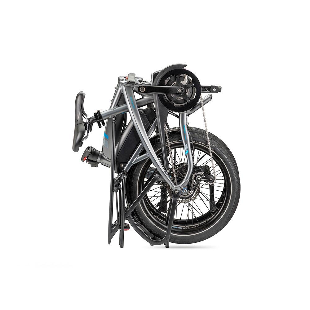 Hartje Tern E-Bike Vectron P7i in Grau - zusammengefaltet