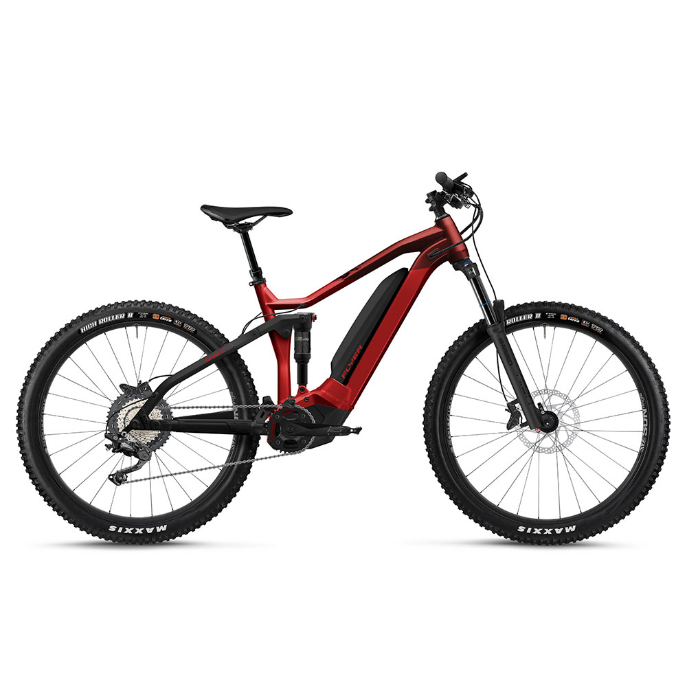 E-Bike Flyer Uproc4 6.30 rot