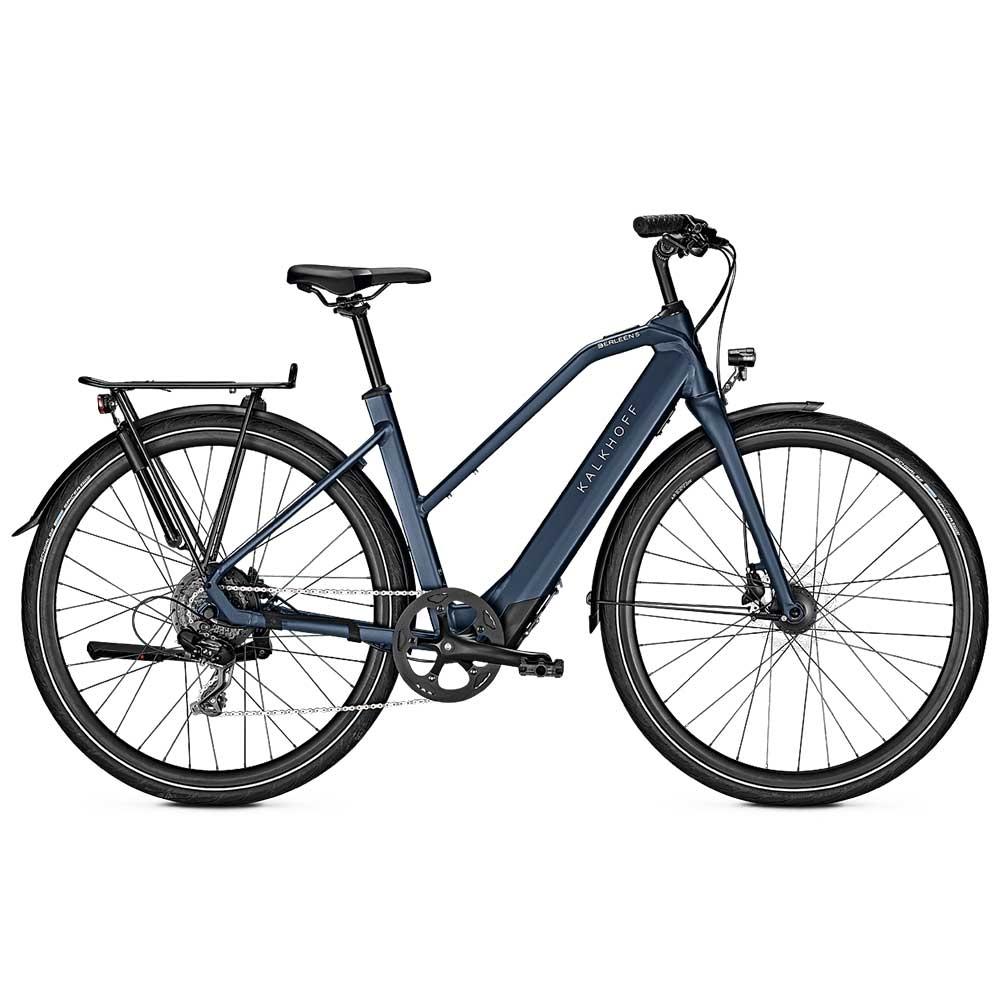 blue| Kalkhoff E-Bike Berleen 5.G Move, Trapezrahmen, Farbe: Sidneyblue matt