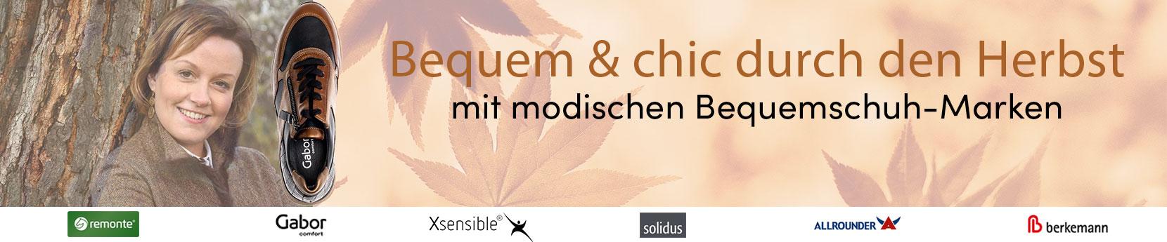 Keyvisual Bequemschuhe: Bequem & chic durch den Herbst mit modischen Bequemschuh-Marken