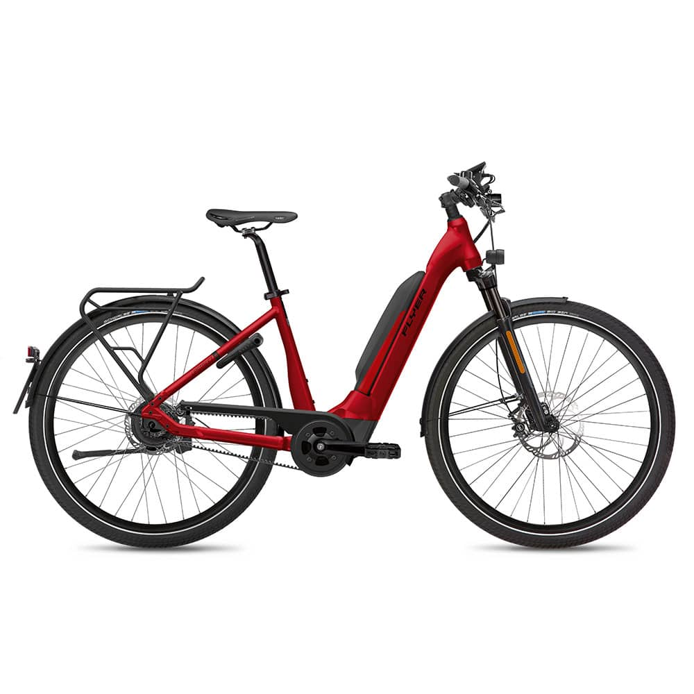 FLYER E-Bike Upstreet5 7.23 Comfortrahmen Rot