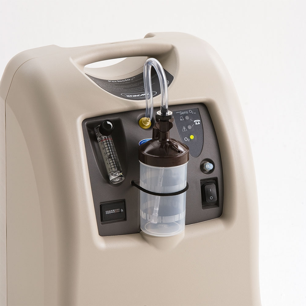 Leicht zu bedienen und besonders zuverlässig: INVACARE Sauerstoffkonzentrator Perfecto 2V