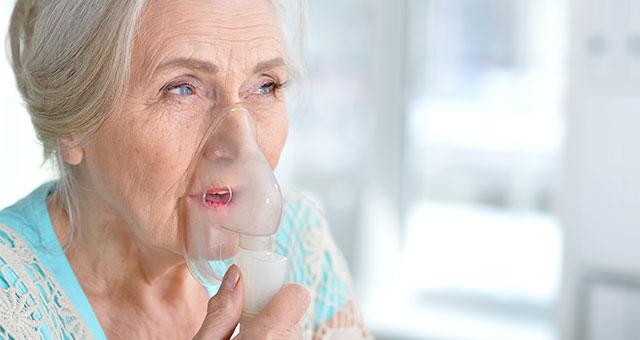 Mit Inhaliergeräten oder Sauerstofftherapiegeräten Erkrankungen der Atemwege behandeln