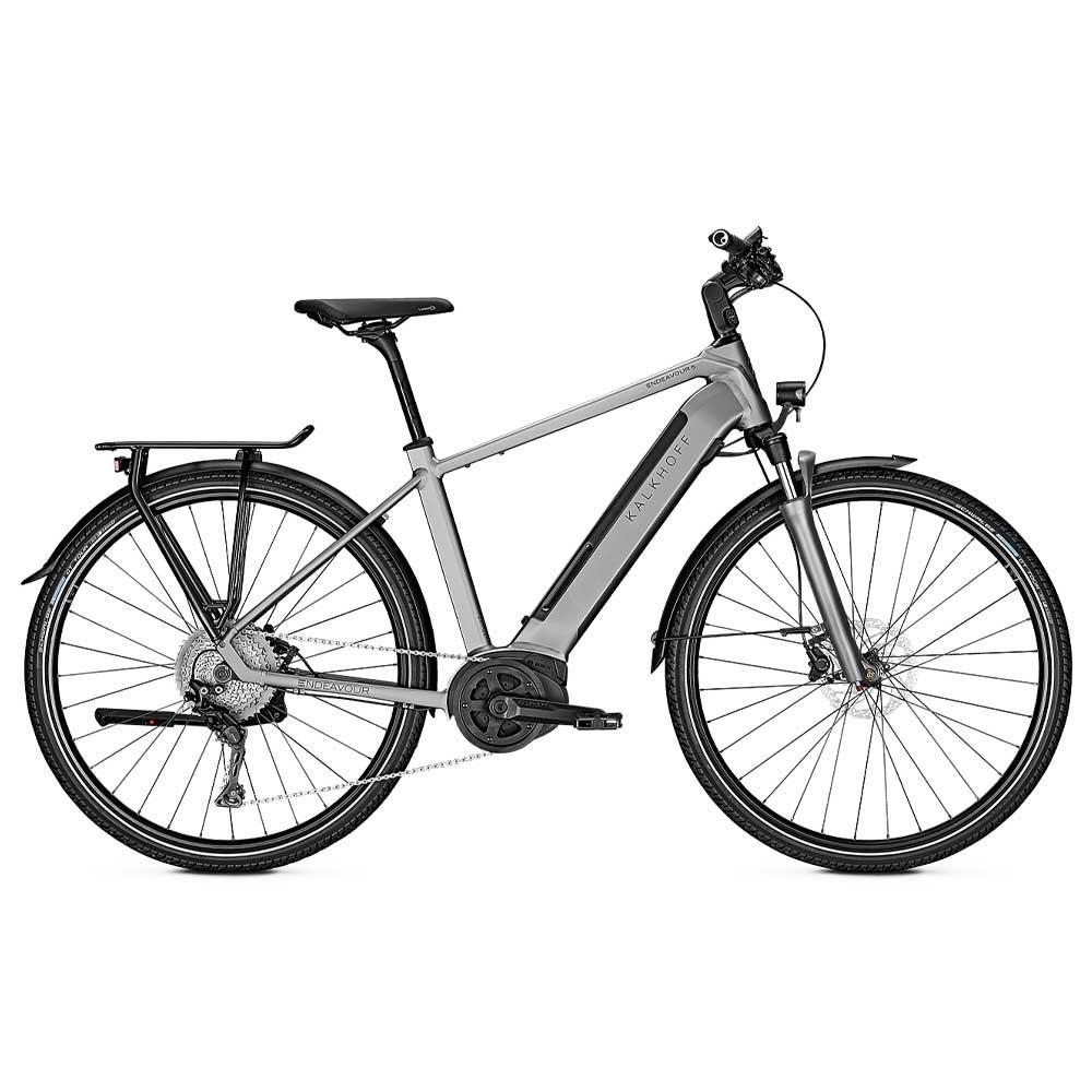 grau| Kalkhoff E-Bike Endeavour 5.B Advance mit Herrenrahmen, Farbe: Grey