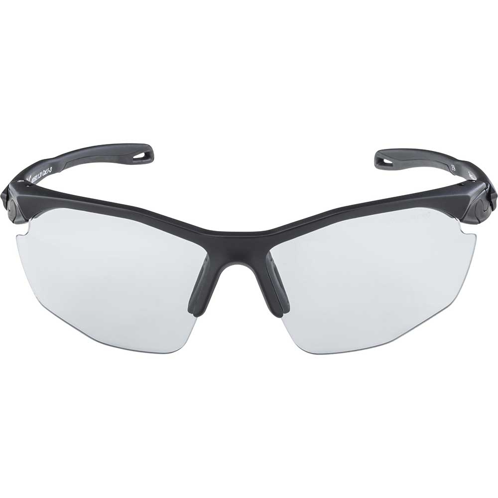 black-matt| Alpina Sportbrille Twist five HR VL+ in der Farbe: Black Matt