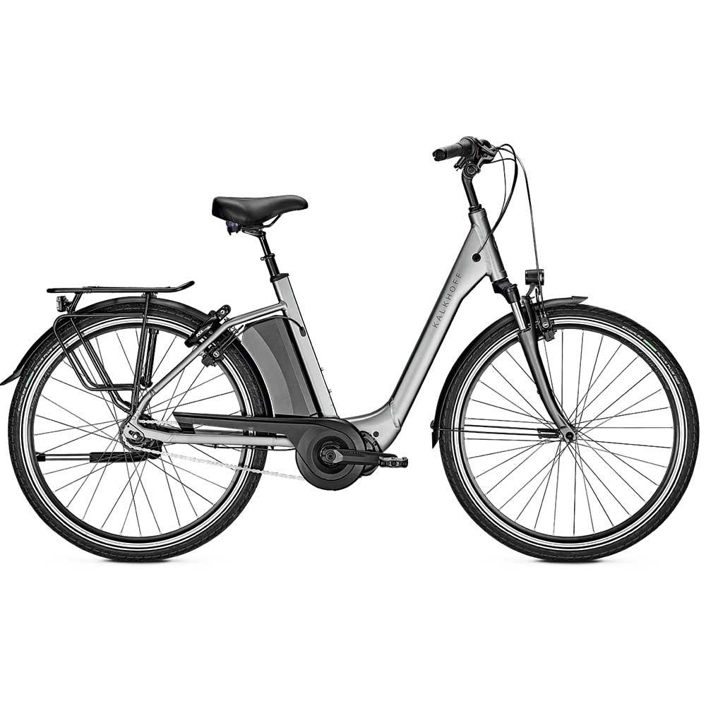 silber|  Kalkhoff E-Bike Agattu 3.S XXL Modell 2020 - zulässiges Gesamtgewicht 170 kg