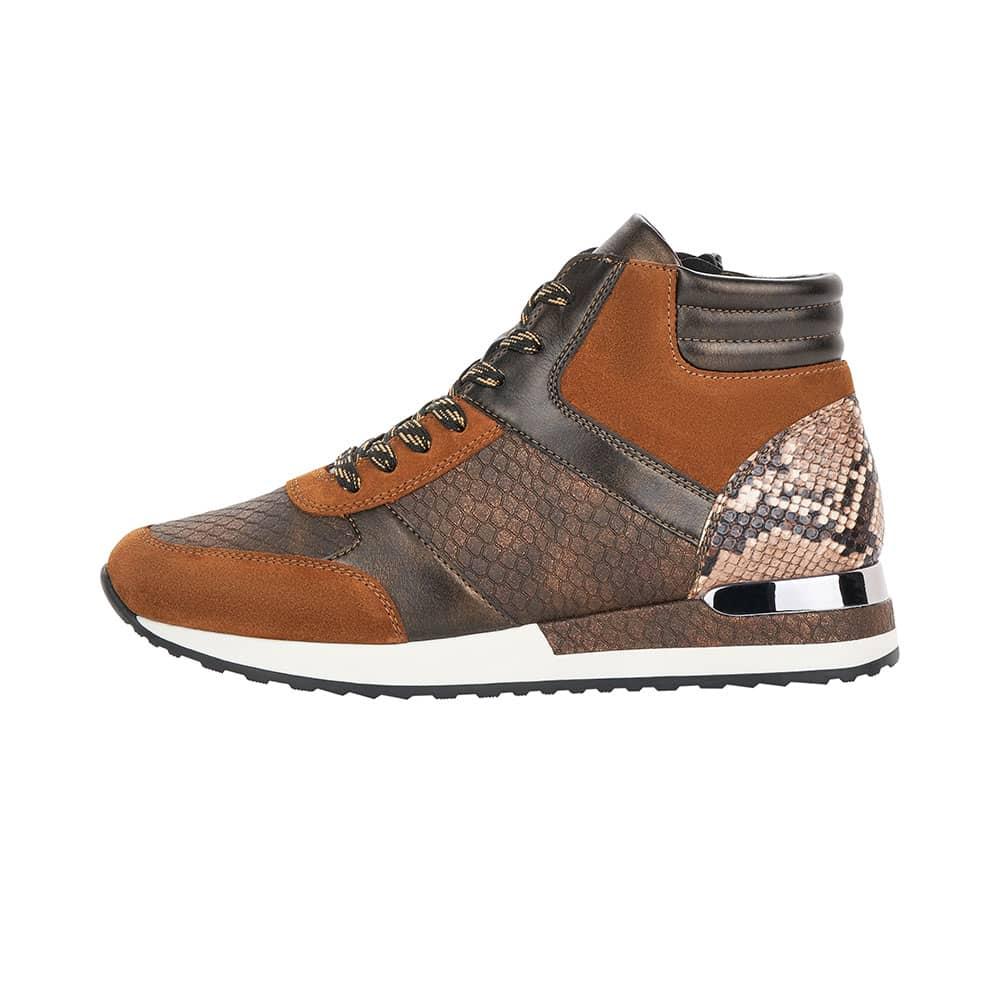 Remonte High top Sneaker Boa  Schuhaußenseite  mit silberfarbener Spange  im Fersenbereich