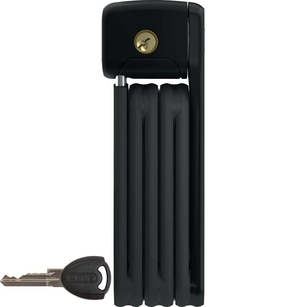 ABUS BORDO Faltschloss Lite 6055 mit Schlüssel, 60 cm, Farbe Schwarz
