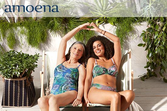 Entdecken Sie die Bademoden-Kollektion FS 21 von Amoena in unserem Onlineshop