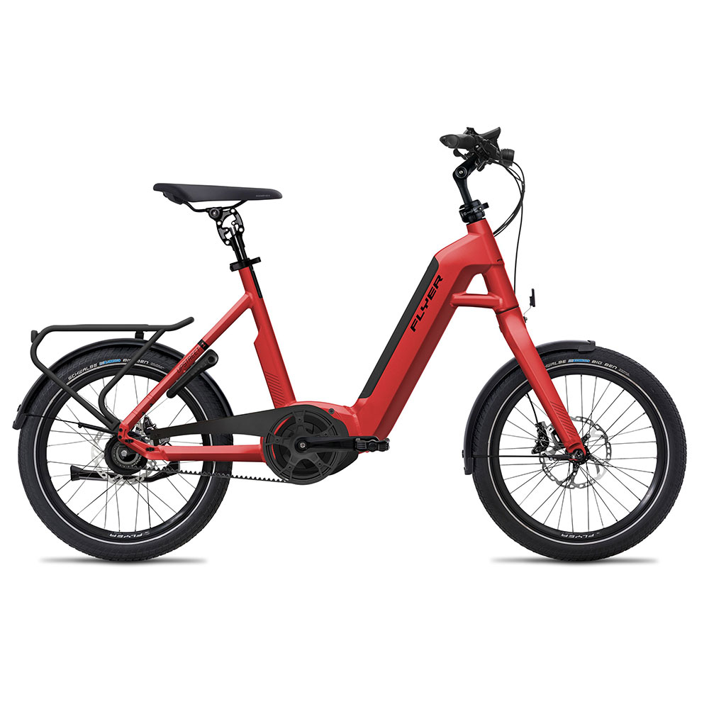 Flyer E-Bike Upstreet1 7.43 in Rot