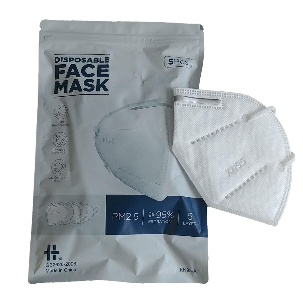 Einmal-Gesichtsmaske KN95