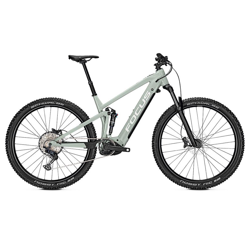 FOCUS E-Bike Thron2 6.8  in Sky Seitenansicht
