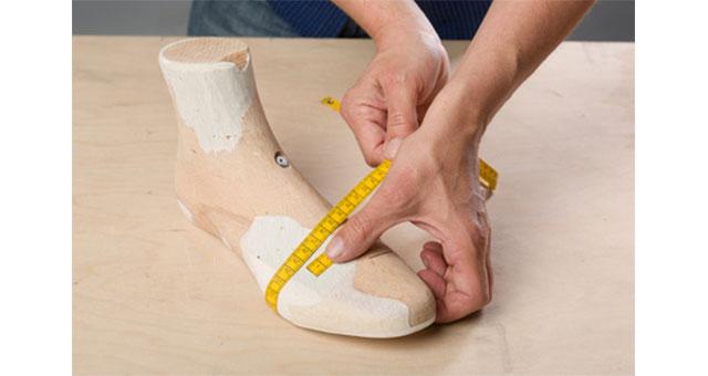 Ermitteln Sie ganz einfach Ihre Schuhweite
