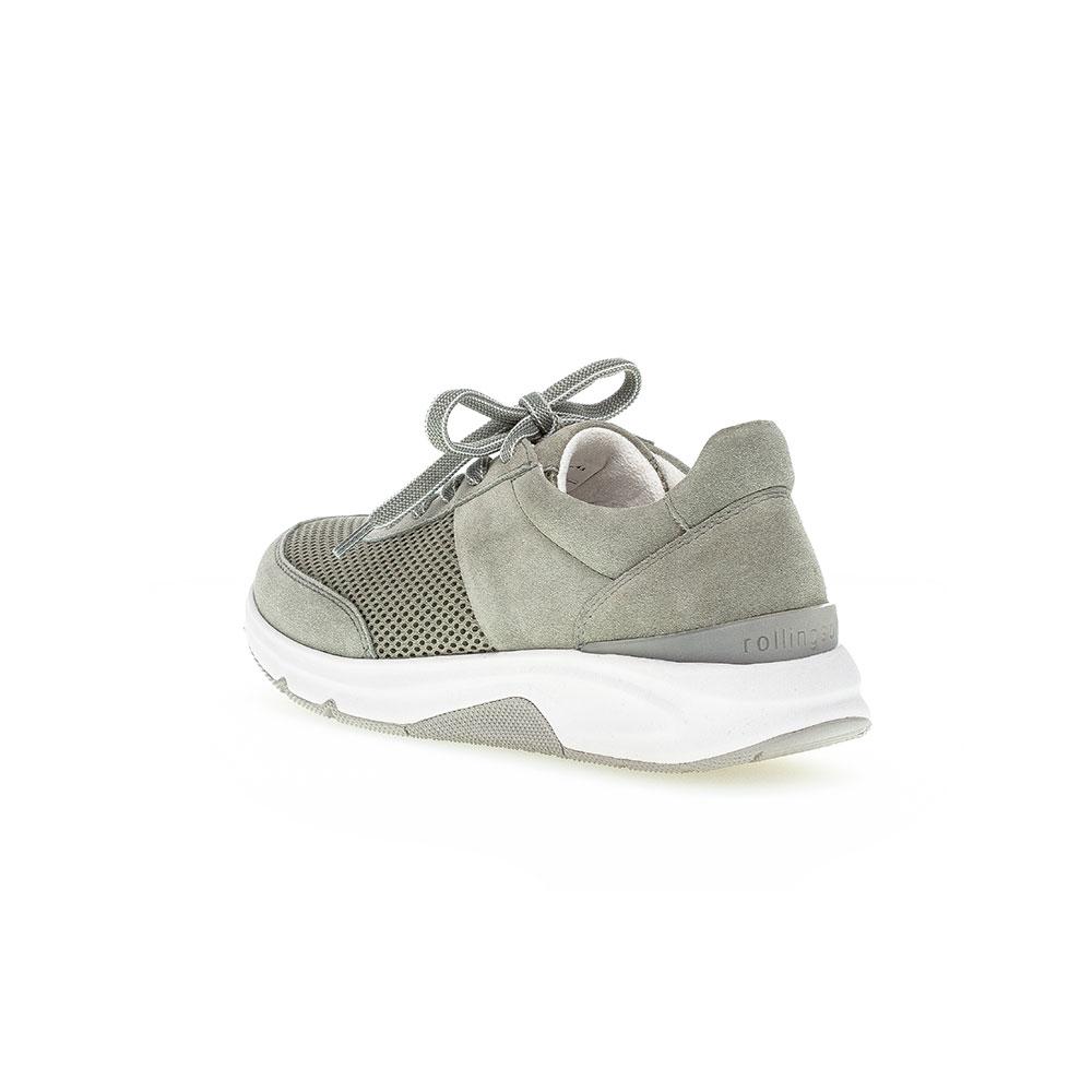 Gabor Rollingsoft Sneaker für Damen in Grün - Rückansicht