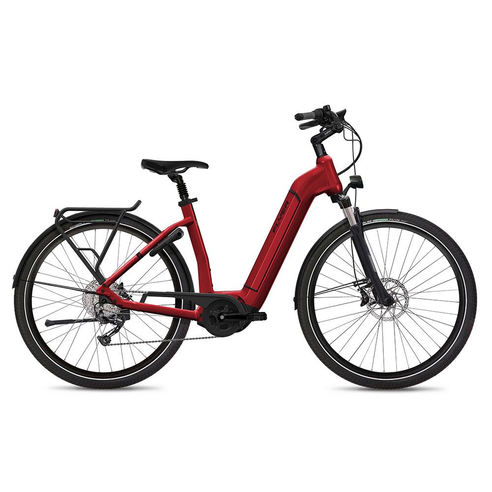 Flyer Gotour2 5.00 E-Bike mit Komforteinstieg in Rot