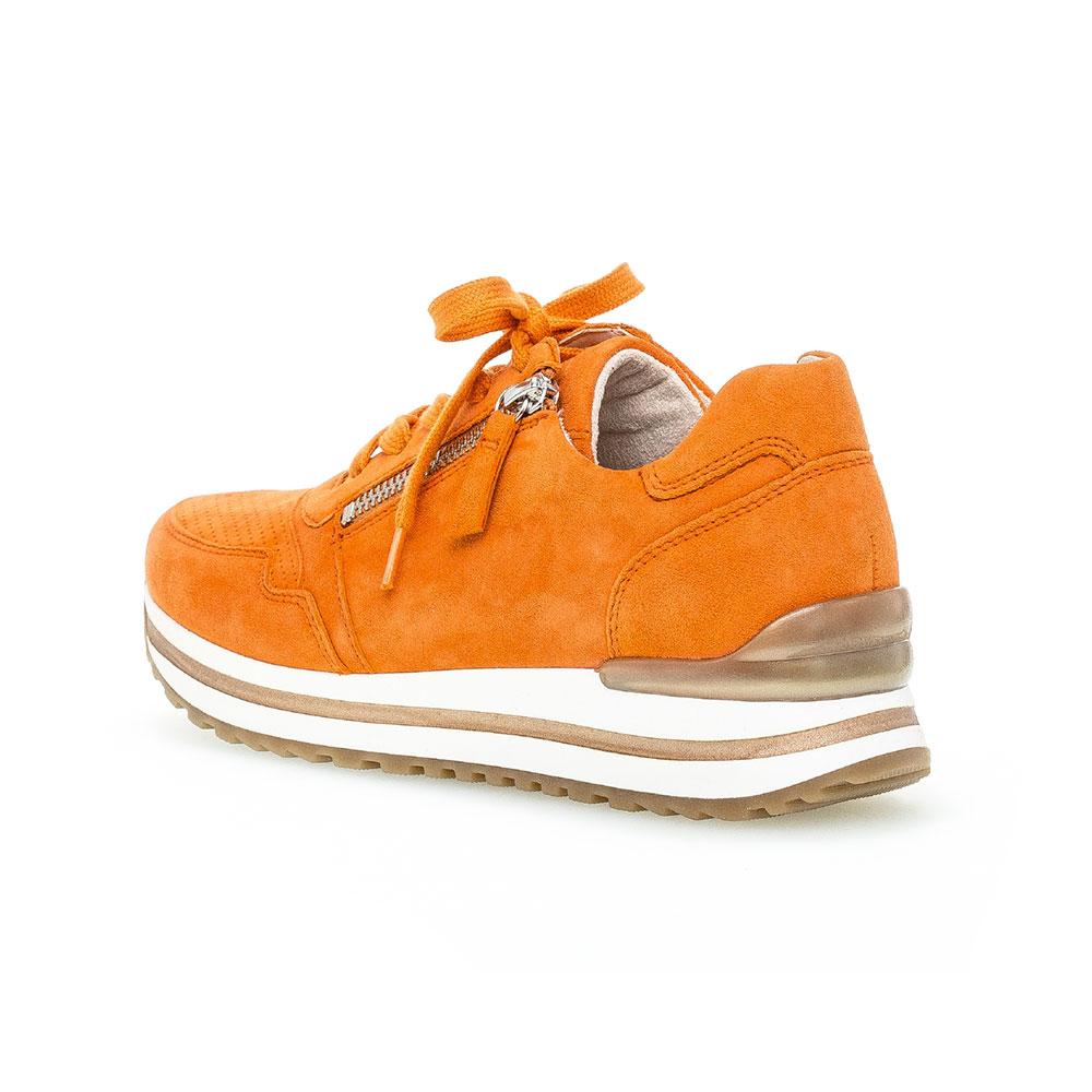 Gabor comfort Sneaker für Damen in Orange - Ansicht Außenseite hinten
