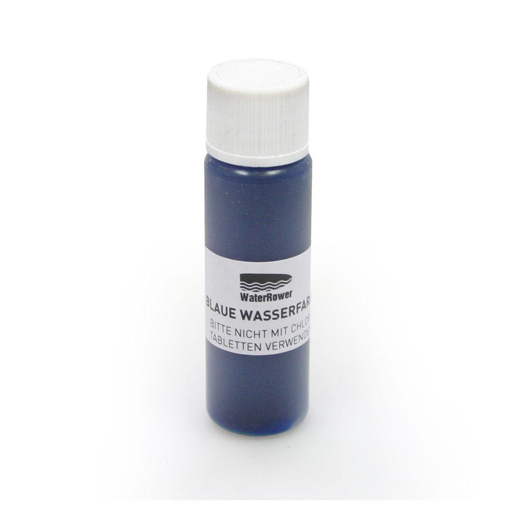 WaterRower Blaue Wasserfarbe - färbt das Wasser Ihres WaterRowers Blau