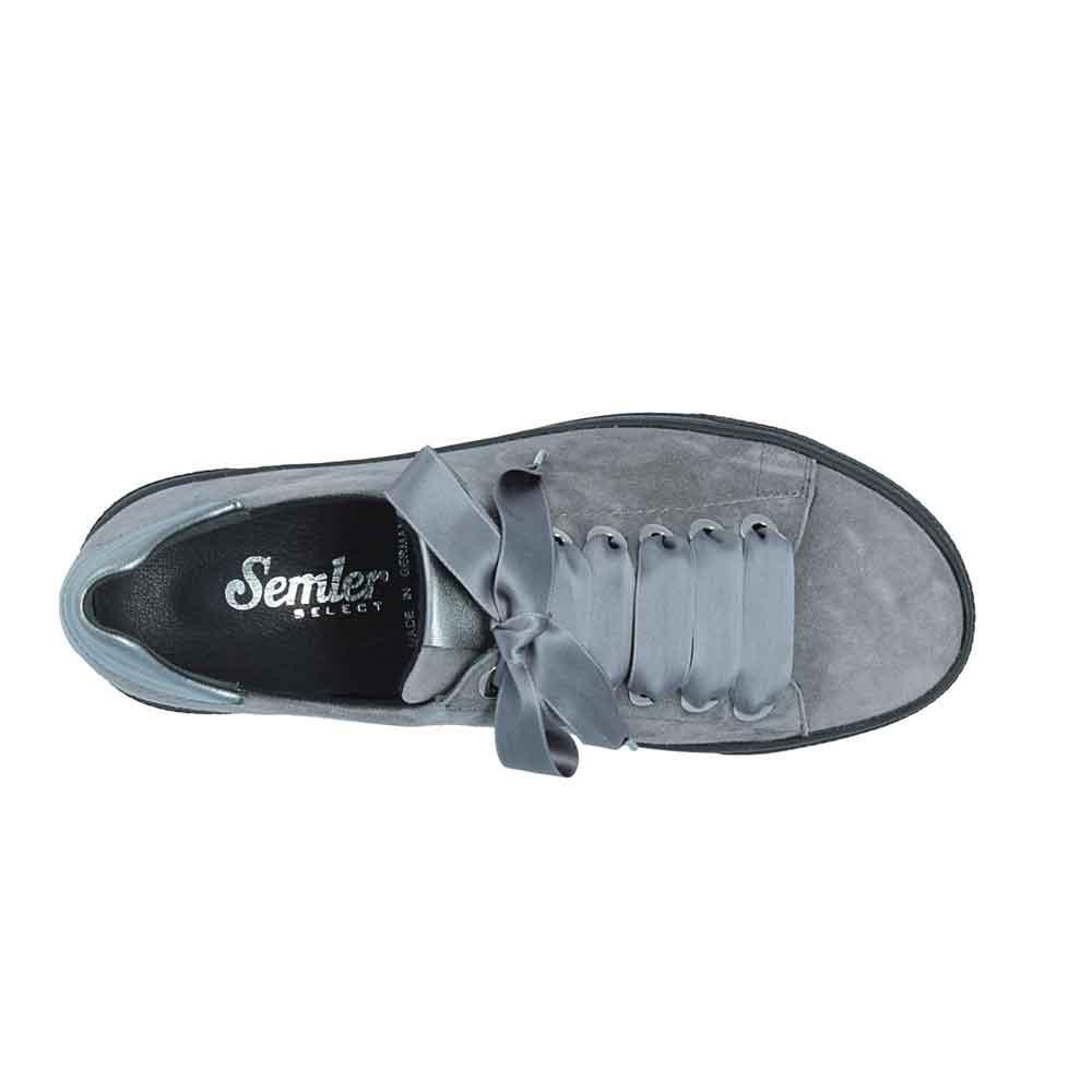 anthrazit| Semler Sneaker Alexa, Ansicht von oben
