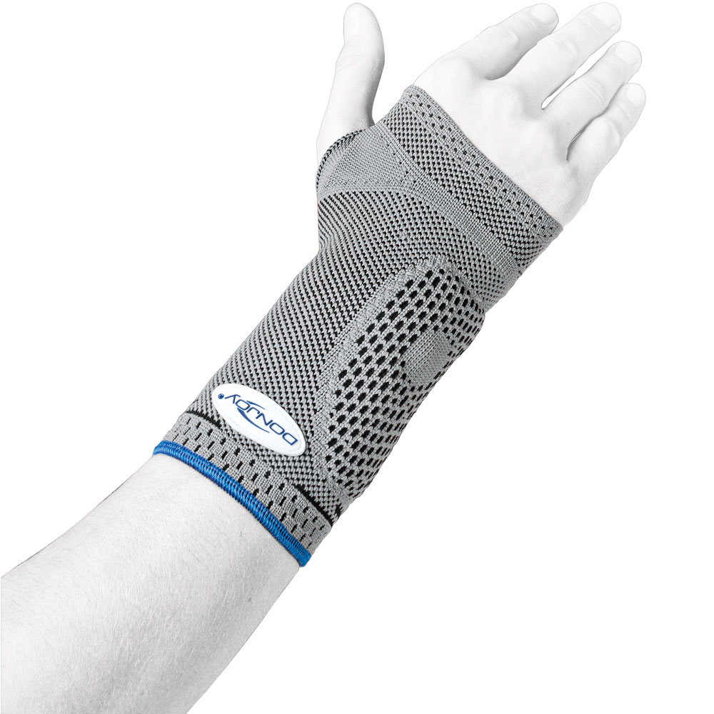 Donjoy ManuForce® Handgelenkbandage, mit herausnehmbarer Aluminiumschiene und Klettgurt