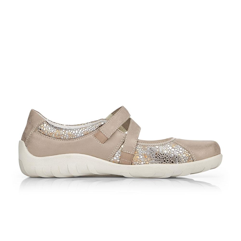 Remonte Soft Ballerinas Metallic Flower - Schuhinnenseite