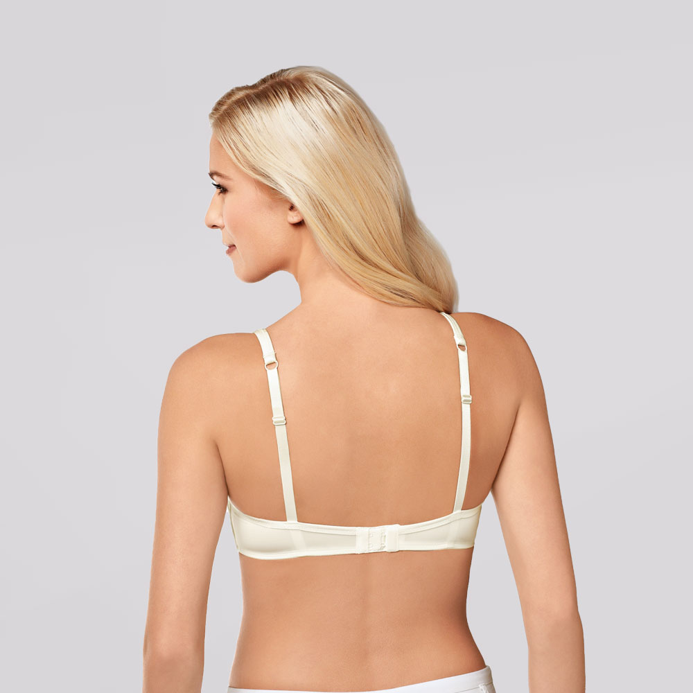 Amoena Lara SB T-Shirt-BH Wollweiß, Rückseite