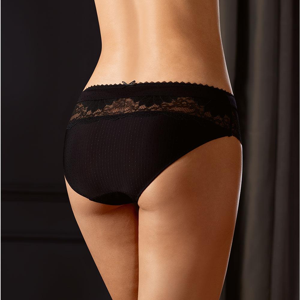 Amoena Aurelie Panty, Farbe: Schwarz, Rückseite