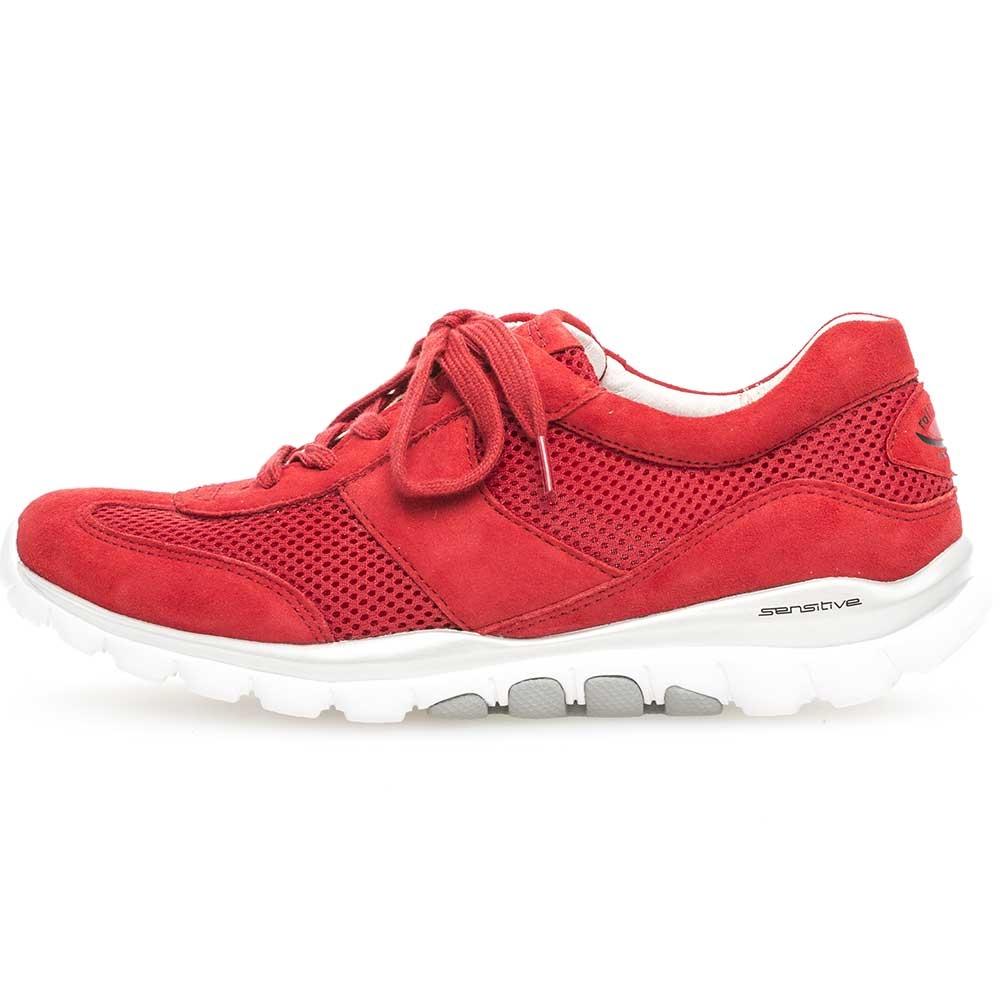 Gabor Sneaker für Damen Rollingsoft sensitive Mesh Flame in Rot
