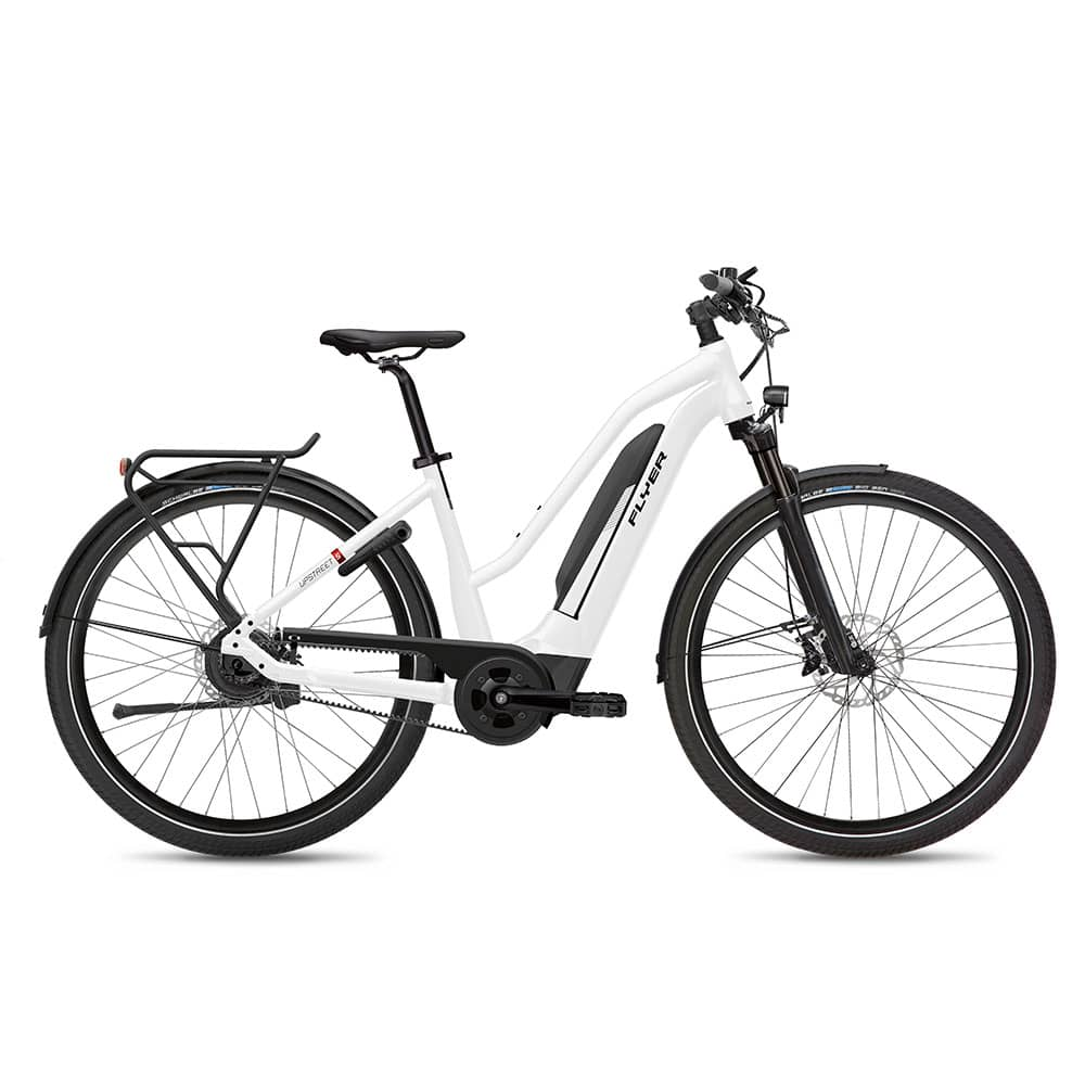 FLYER E-Bike Upstreet5 7.23 Mixedrahmen Weiß