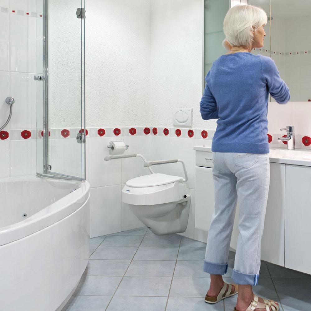 Invacare Toilettensitzerhöhung AQUATEC 900 auf Rezept bestellbar