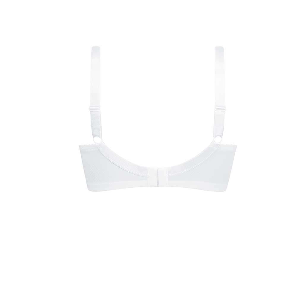 Amoena Prothesen BH Nancy SB, Farbe: Weiß, Freisteller Rückseite