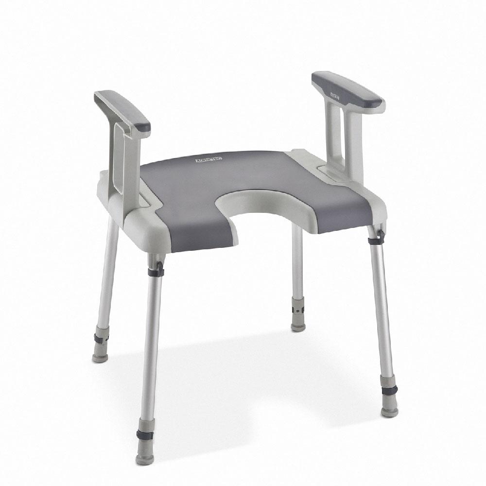 Invacare Aquatec® Sorrento Duschstuhl, mit Armlehnen