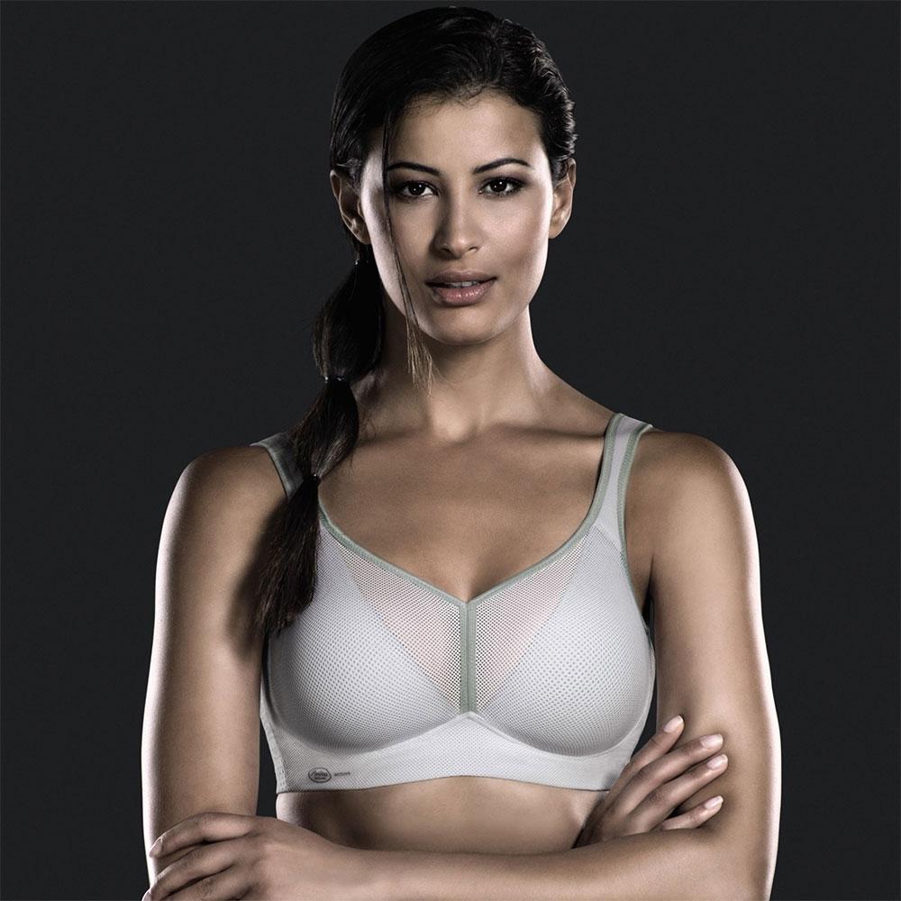 weiss| Anita Sport-BH AIR CONTROL DeltaPad in weiß