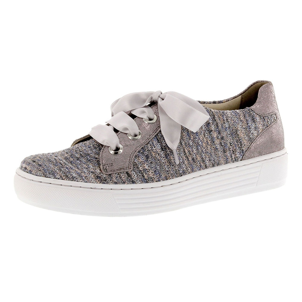 bunt| Solidus Sneaker Hazel Soliknit Multicolour, mehrfarbig in soft-purple