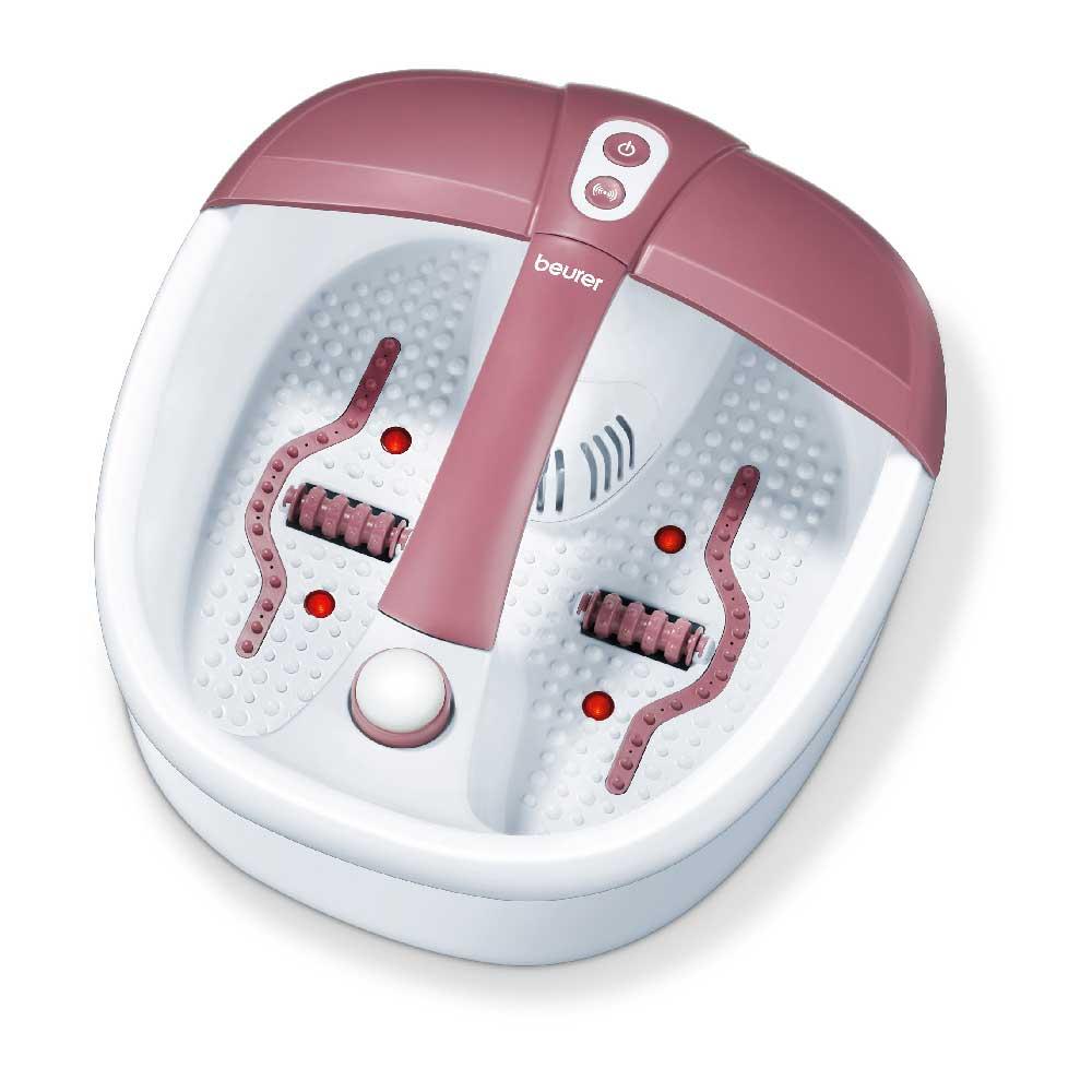 Beurer Aroma Fußbad FB 35, Wellness für die Füße mit Massage, Aromatherapie und Magnetfeld