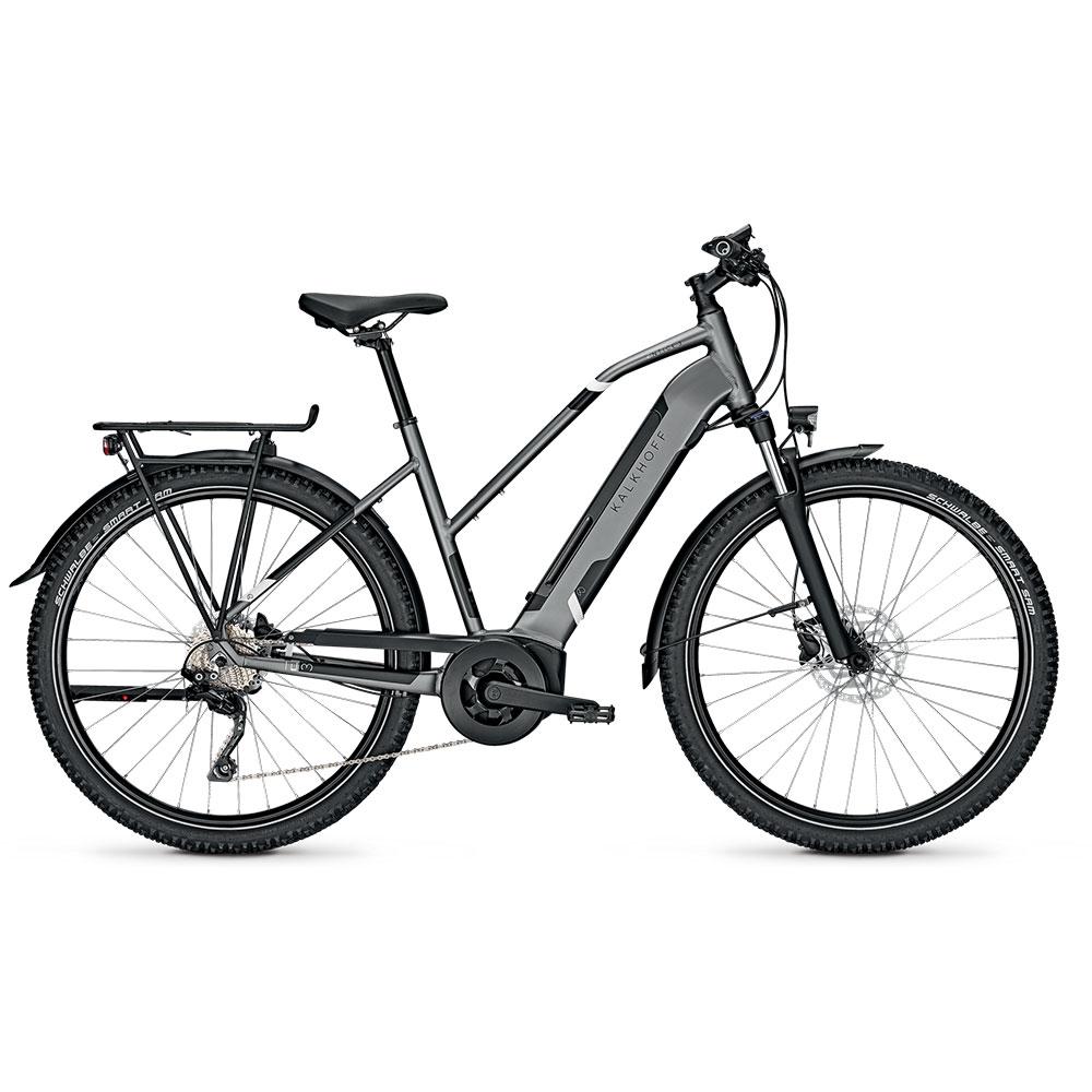 Kalkhoff E-Bike Entice 3B Advance  Herrenrahmen Waverahmen in Grau