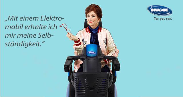 Ein Scooter bringt Ihnen Ihre Bewegungsfreiheit zurück