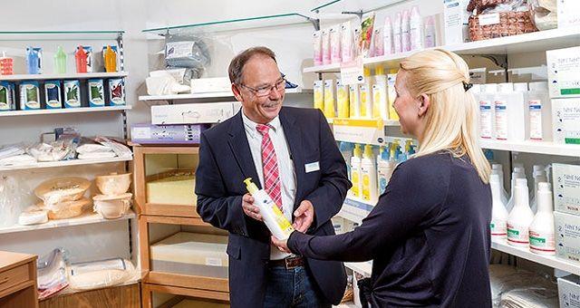 Pflegehilfsmittel-Beratung in unseren Filialen