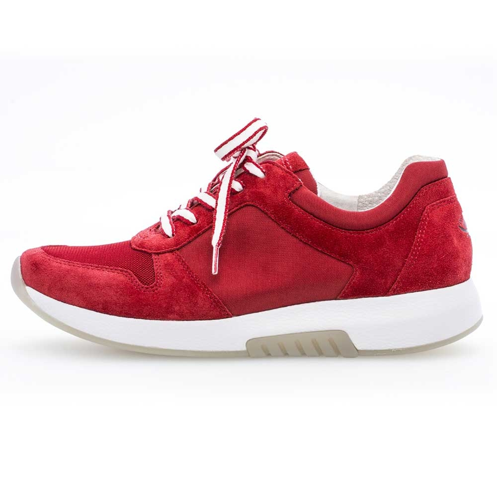 Gabor Rollingsoft sensitive Sneaker Mesh in rot