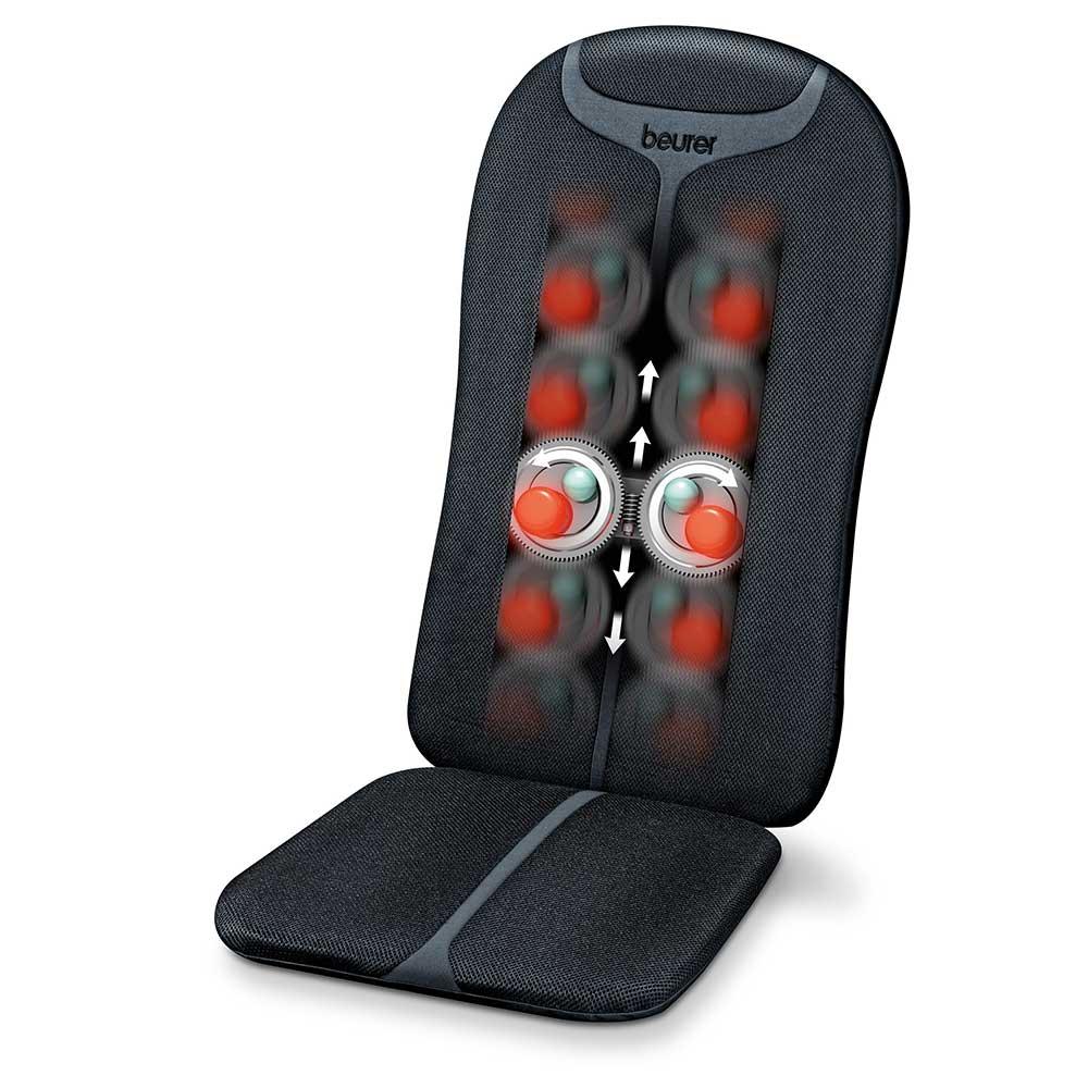 Beurer Massagesitzauflage MG 205, 4 rotierende Massageköpfe