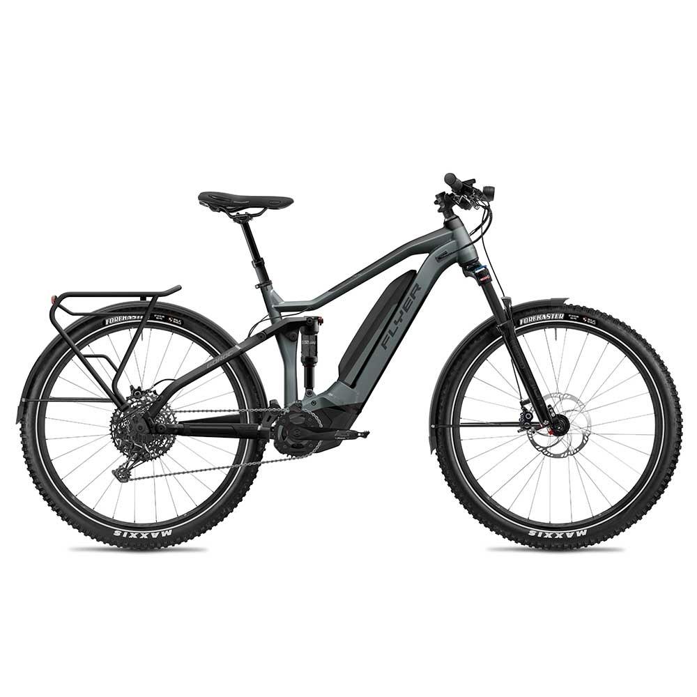 schwarz| FLYER E-Bike Goroc4 6.50 in Black
