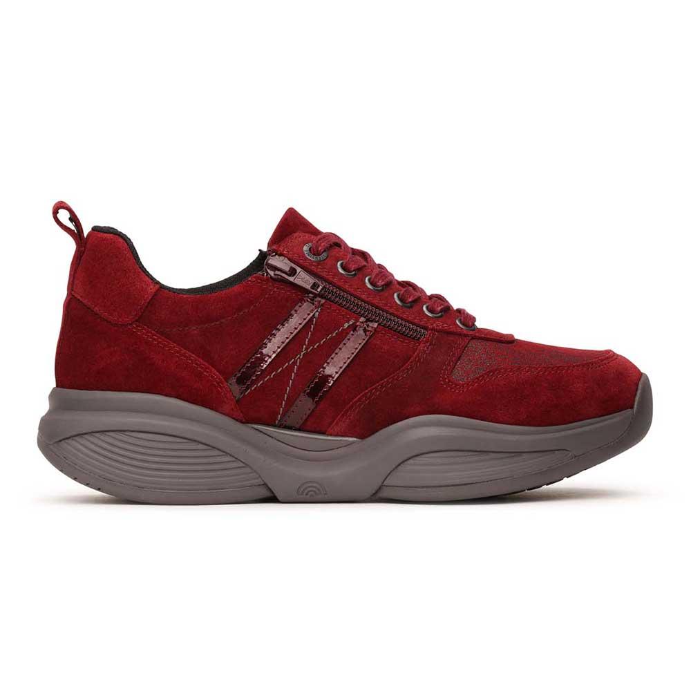 Xsensible Stretchwalker hohe Sneaker SWX 3 Lady in Rot