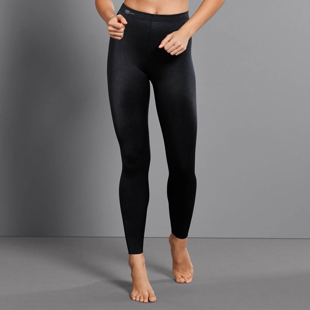 Schwarz | Anita Sport Tights Massage 1695, Vorderseite