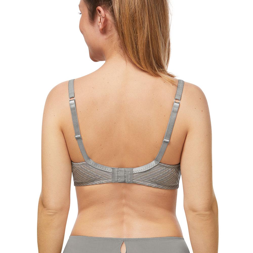 Amoena Urban Stripes SBP Prothesen-BH grau grau Ansicht Model hinten