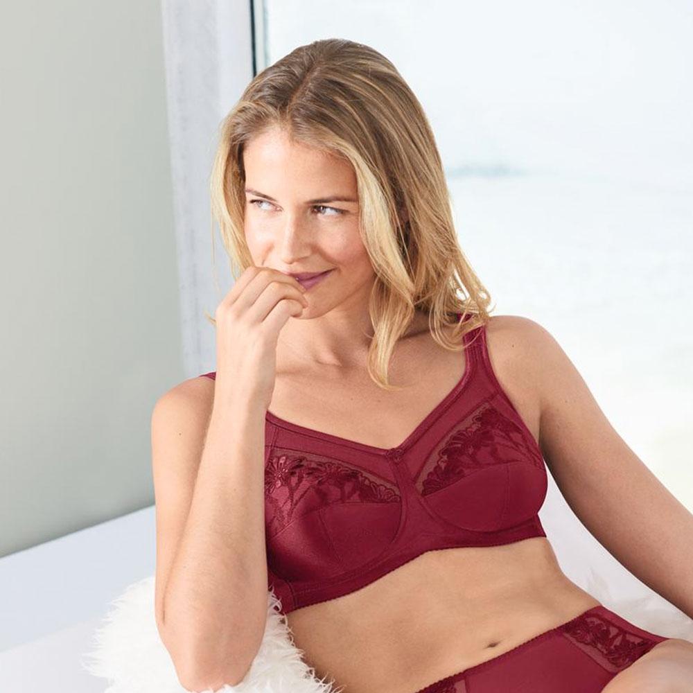 kir-royal| Anita care Prothesen BH Safina, mit Prothesen-Taschen aus Baumwoll-Jersey, Farbe: Kir-Royal