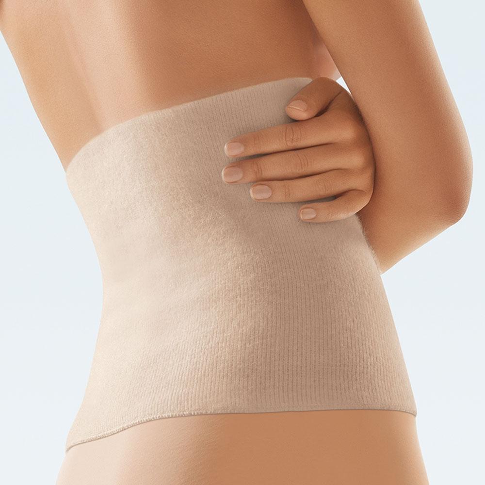 Bort ClimaCare Leibwärmer, Rückenwärmer und Nierenwärmer, Farbe: Haut Swatch