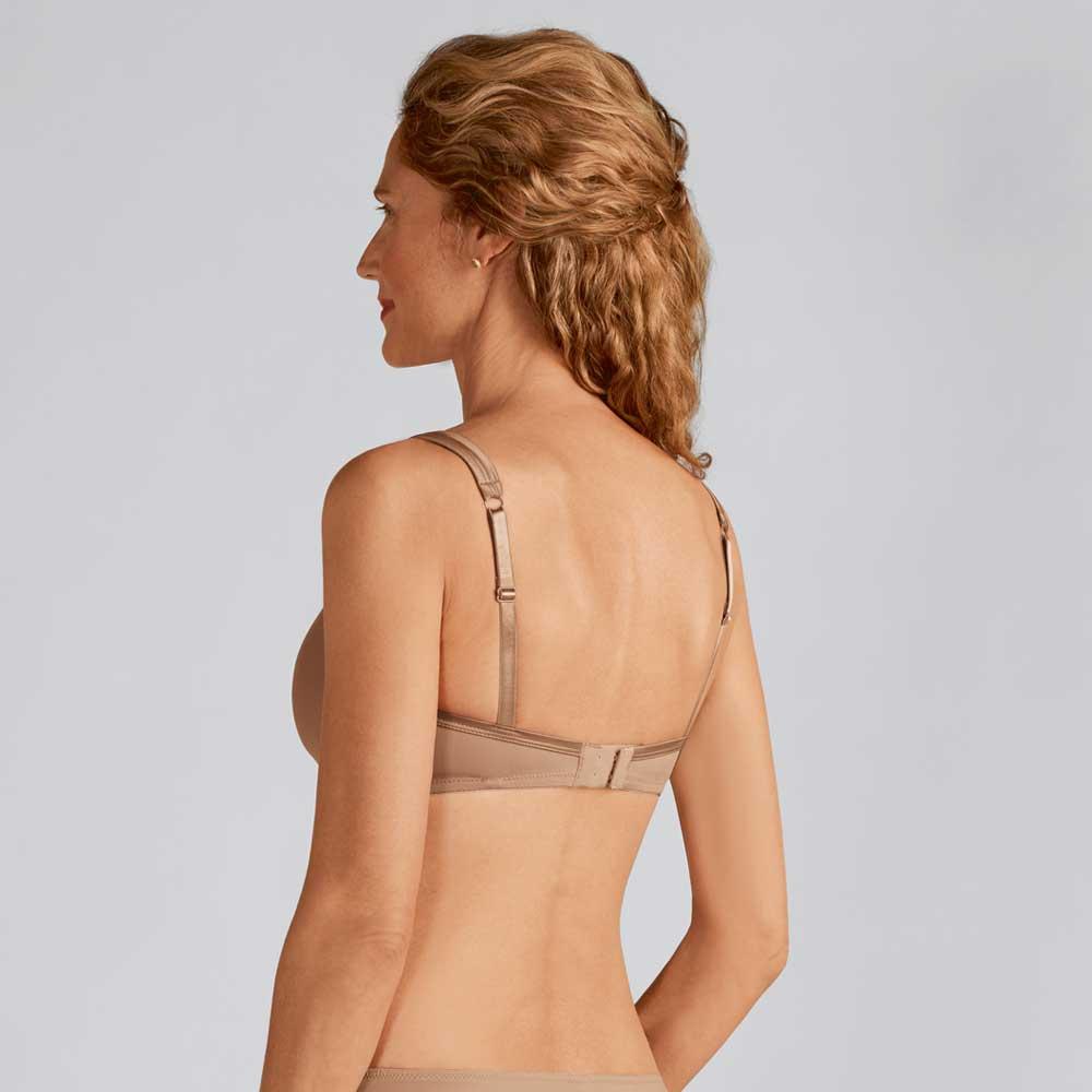 Amoena Lara Satin Padded SB, Farbe: Nuder, Rückseite