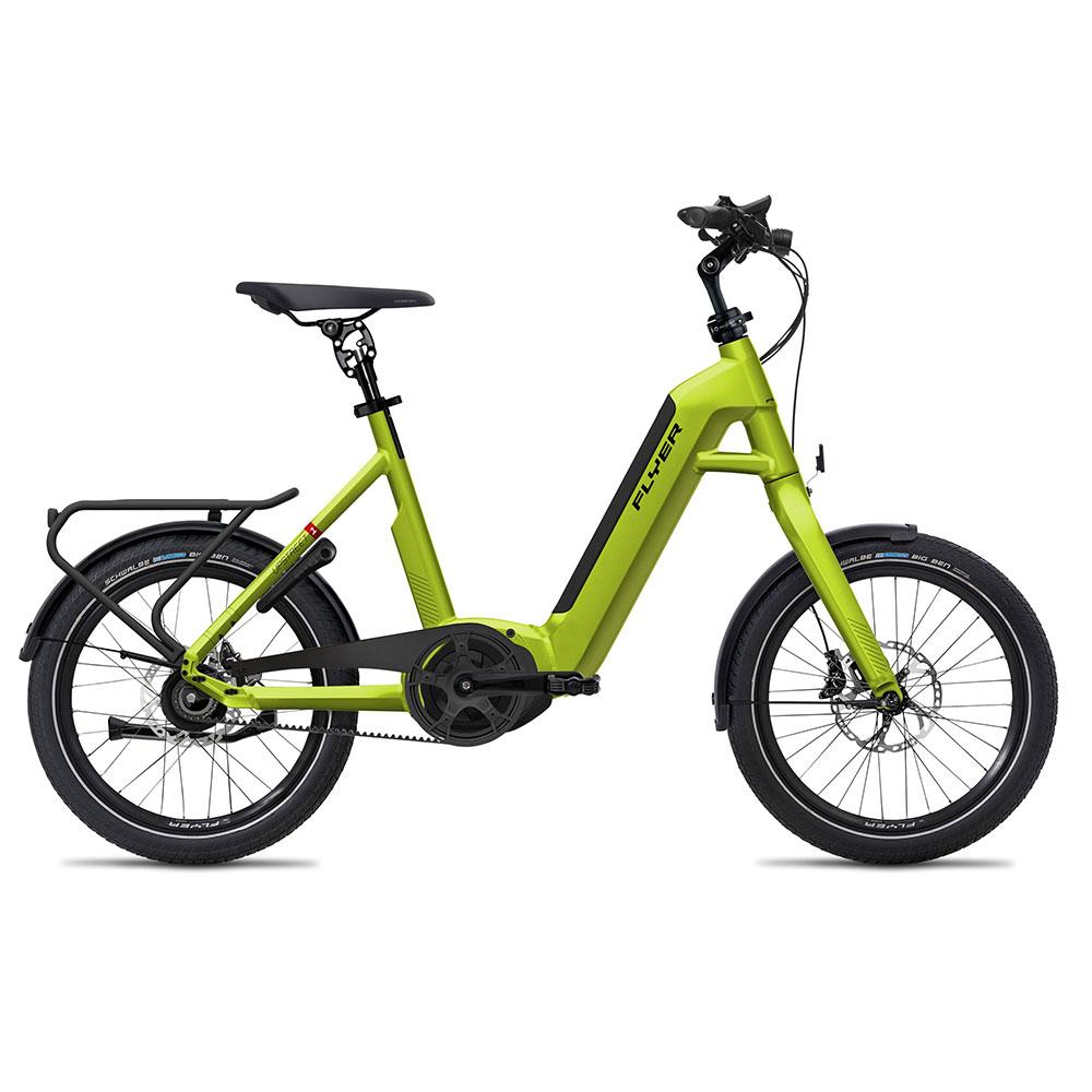 Flyer E-Bike Upstreet1 7.43 in Grün