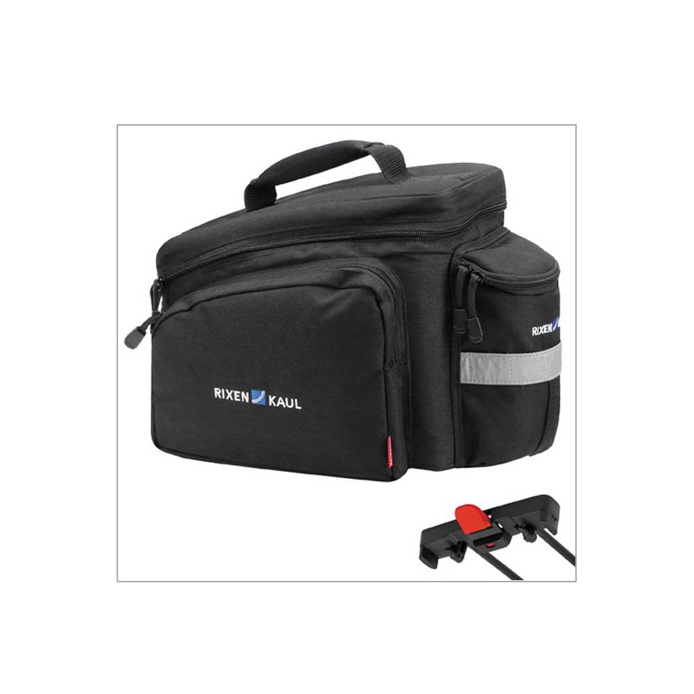 schwarz| Rixen & Kaul Rackpack 2 Racktime Gepäckträgertasche, Farbe: Schwarz